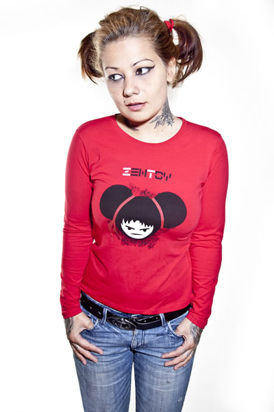 ZenToy - Girl Red T-Shirt (Long Sleeves)