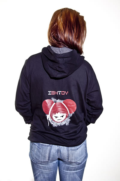 ZenToy - Girl Black Sweatshirt