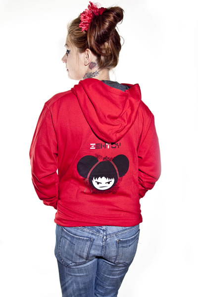 ZenToy - Girl Red Sweatshirt
